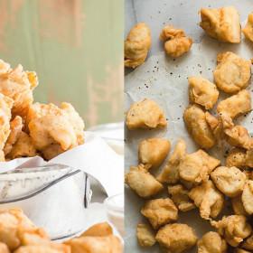 попкорн из курицы