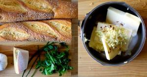 чесночный хлеб ингредиенты