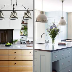 дизайн кухни со комодами