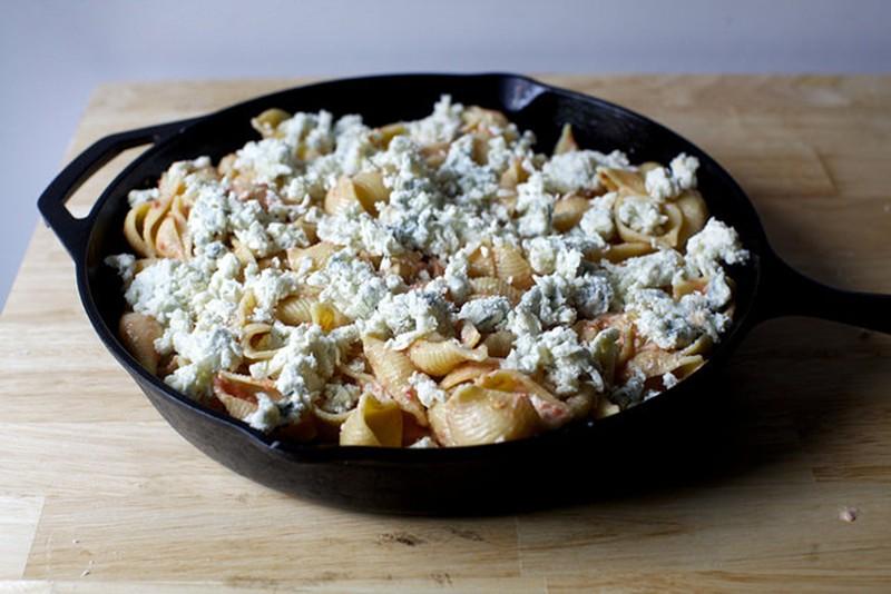 паста запеченная с сыром 1