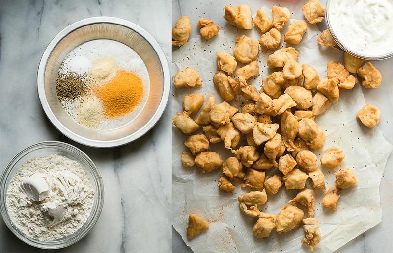 как сделать попкорн из курицы