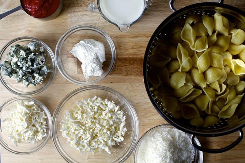 ингредиенты паста запеченнная с сыром