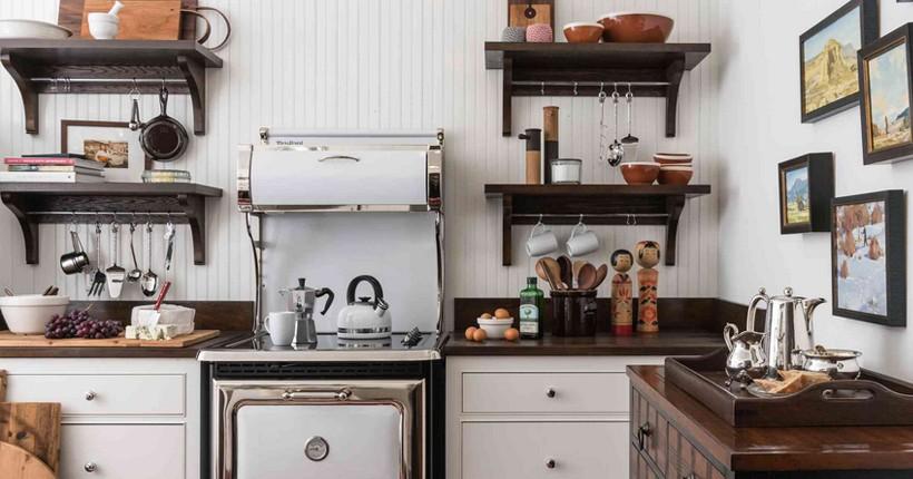 Кухни на даче становятся все более очаровательными