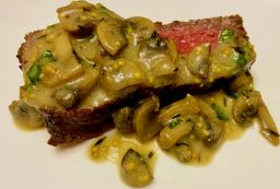Грибной соус к стейку или мясу по рецепту Гордона Рамзи