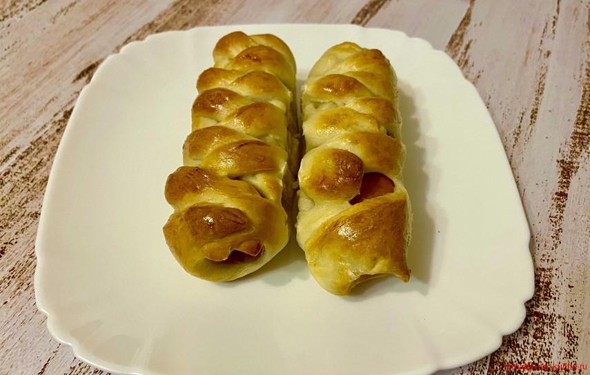 пирожки с соиской в духовке