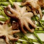 осьминоги на гриле вкусные