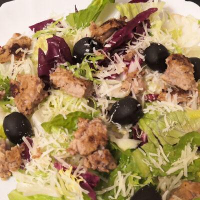 печень трески салат