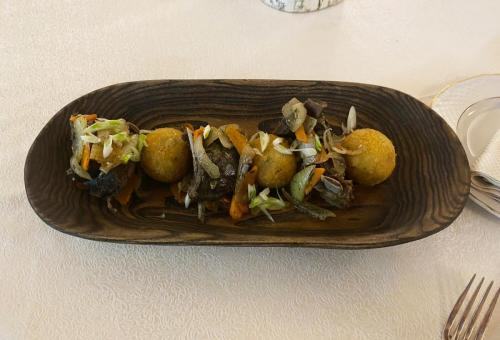 Жаркое из изюбря с картофельными крокетами. Ресторан Охотников, Иркутск